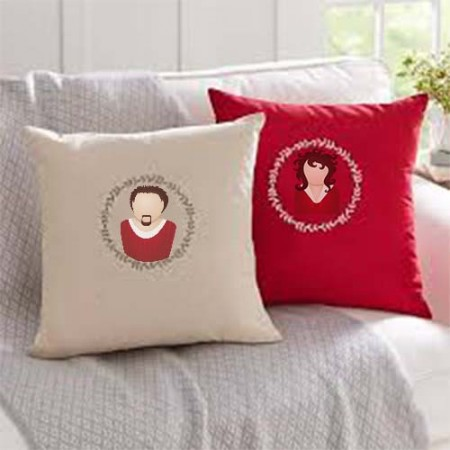Giftsuncommon - Image Printed Couple Cushion